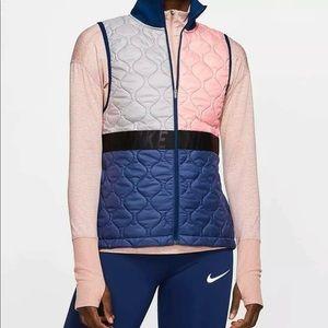 Nike Aerolayer Running Gilet Vest $100 Women's